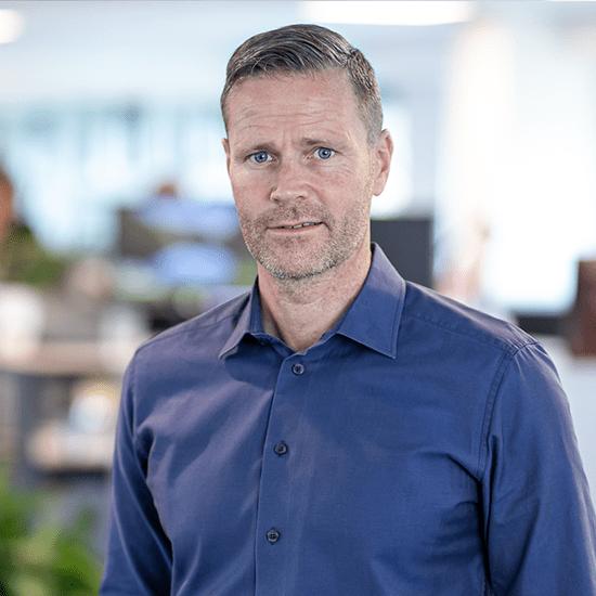 Driftsdirektør Jannick Ajslev • COO Projekter og support