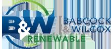 B&W Renewable logo