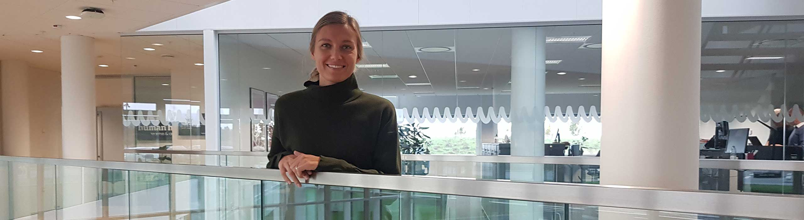 Simone Hebsgaard Rasmussen om at være ny i Human House